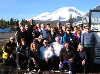 Mt. High club members (Portland, Oregon) at Mt. Shasta 2002